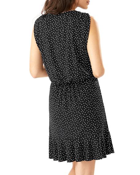 Tommy Bahama Sea Swell Dot-Print Coverup Dress