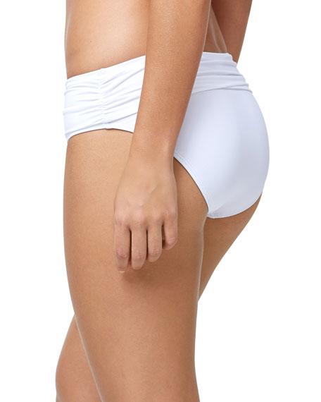 Tommy Bahama Pearl High-Waist Sash Bikini Bottom