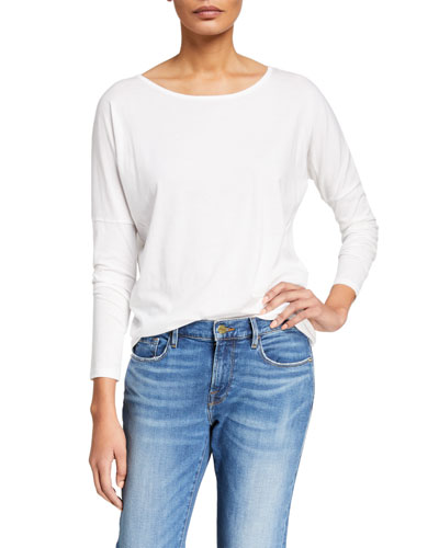 Le Mid Rise Garcon Long-Sleeve Top