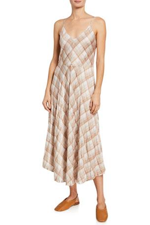 Womens size 8-10 leopard print high neck stretch midi sleeveless dress clubbing