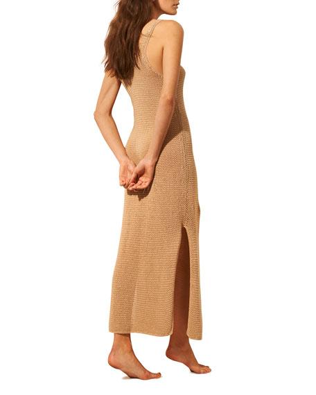 Skin Louisa Scoop-Neck Coverup Dress