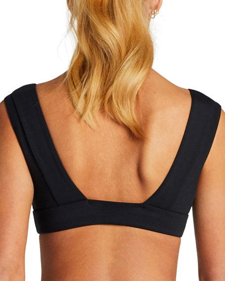 Vitamin A Enya Solid Bikini Top