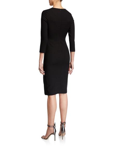 Likely Nika Slit Cocktail Dress