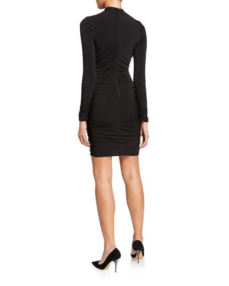 Likely Bali Long-Sleeve Turtleneck Bodycon Dress