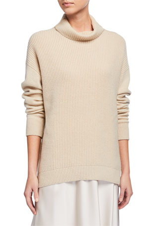 Alice + Olivia Daphney Turtleneck Cashmere Sweater