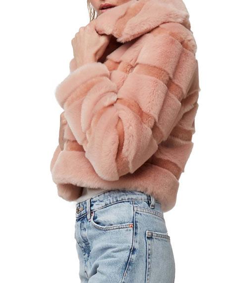 AS by DF Stardust Faux-Fur Chubby Coat