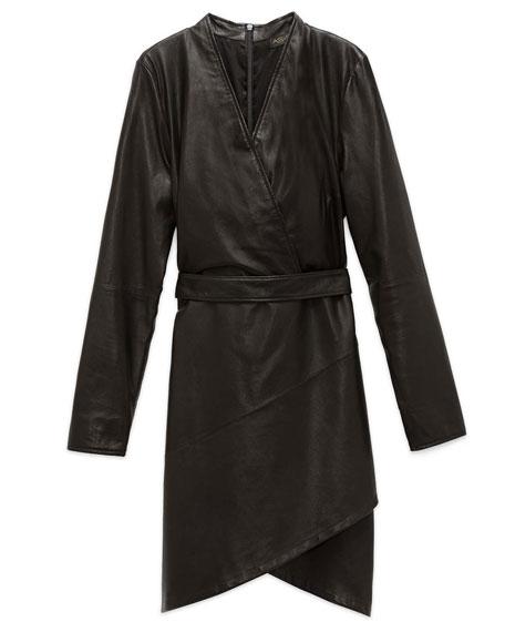 AS by DF La Nuit Leather Dress