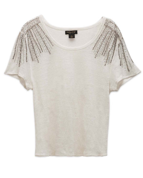AS by DF Nocturne Linen Tee