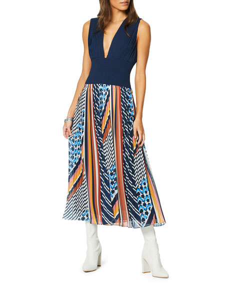 Ramy Brook Diana Printed Dress