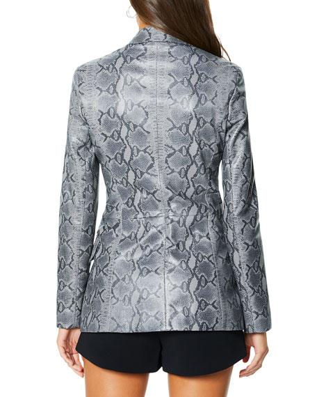 Ramy Brook Andel Leather Blazer Jacket