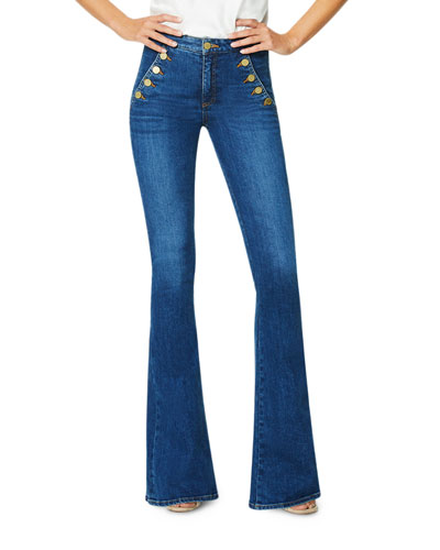 Helena Mid-Rise Flare Jeans