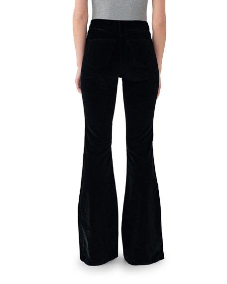 DL1961 Premium Denim Rachel High-Rise Flare Jeans