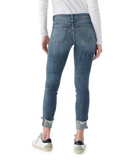 DL1961 Premium Denim Florence Ankle Mid Rise Skinny Jeans