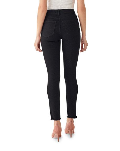 DL1961 Premium Denim Farrow Ripped Ankle High Rise Skinny Jeans