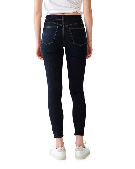DL1961 Premium Denim Florence Ankle Mid Rise Skinny Jeans