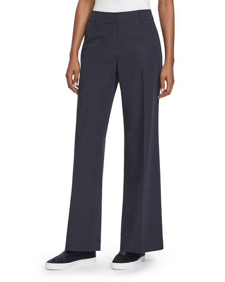 Lafayette 148 New York Broadway Stretch Cotton Pants