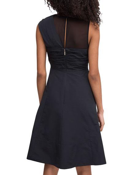 kate spade new york Bow Front Sleeveless Faille Dress