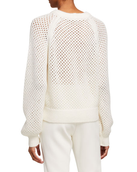 Joie Yayi Netted Sweater