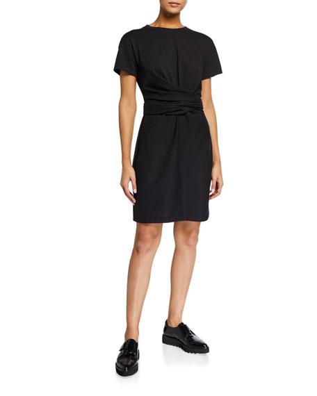 Rag & Bone Aimie Short-Sleeve Tie Dress