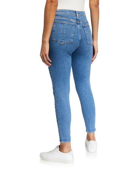 Image 2 of 3: Rag & Bone Nina High-Rise Ankle Skinny Jeans