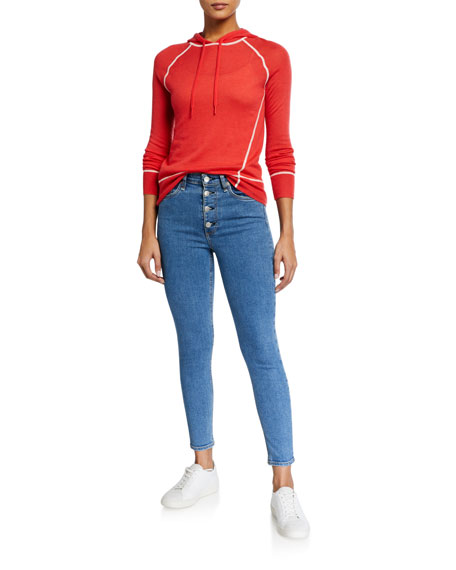 Image 3 of 3: Rag & Bone Nina High-Rise Ankle Skinny Jeans