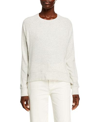 Long-Sleeve Raglan Sweater