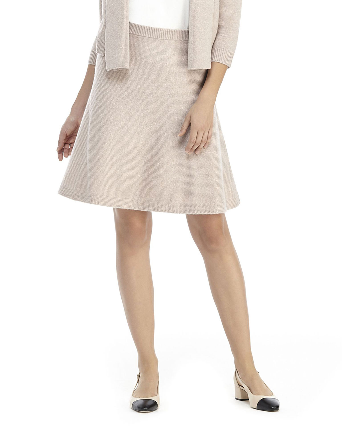 Gal Meets Glam Collection Sparkle A-Line Skirt