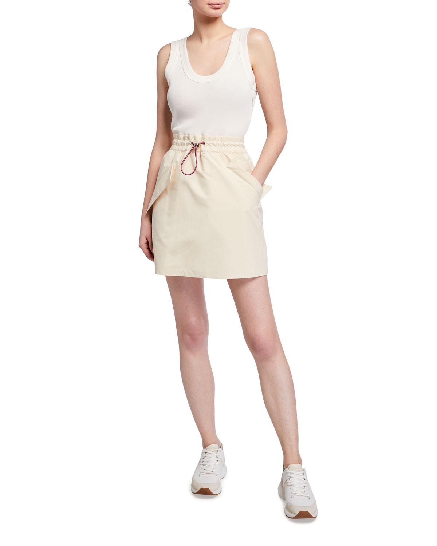 Moncler Genius 2 Moncler 1952 Drawcord Dress