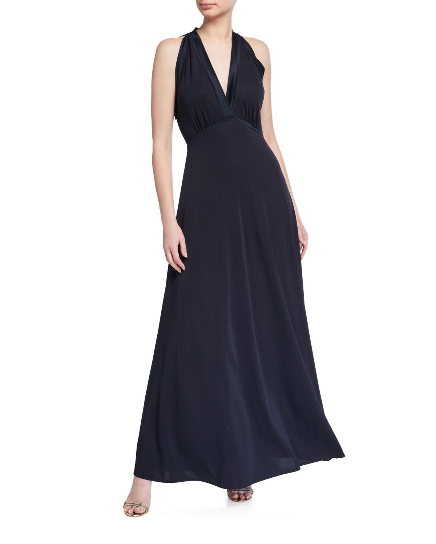 Elie Tahari Everly Sleeveless Maxi Dress