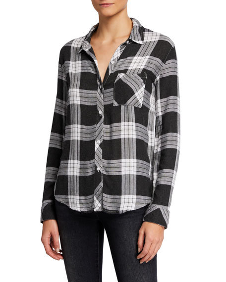 Image 2 of 5: Rails Hunter Plaid Long-Sleeve Button-Down Shirt