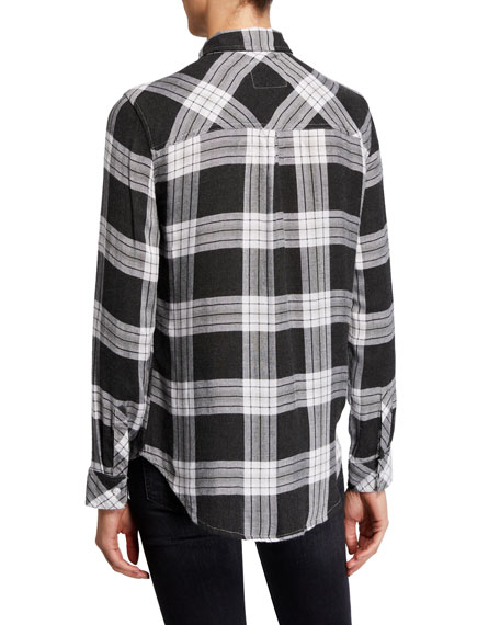 Image 3 of 5: Rails Hunter Plaid Long-Sleeve Button-Down Shirt