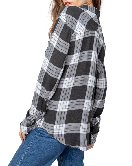 Image 4 of 5: Rails Hunter Plaid Long-Sleeve Button-Down Shirt
