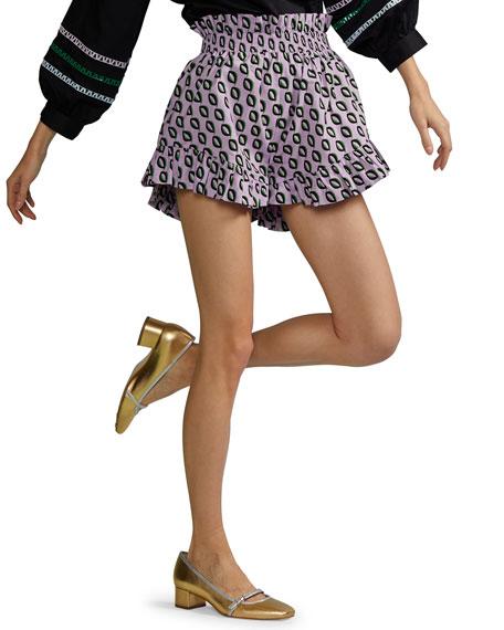 Cynthia Rowley Birdie Flutter Shorts