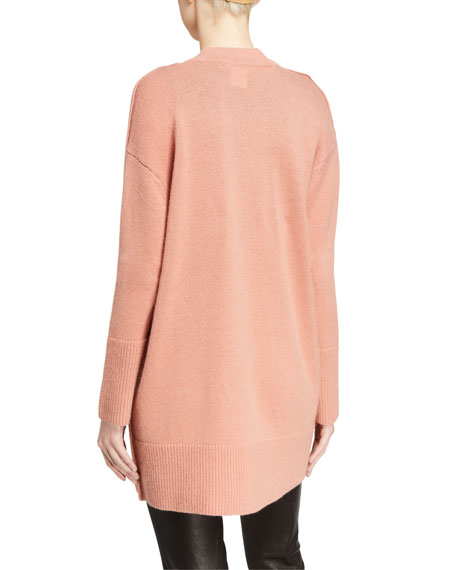 Image 2 of 2: Louie V-Neck Oversized Cardigan