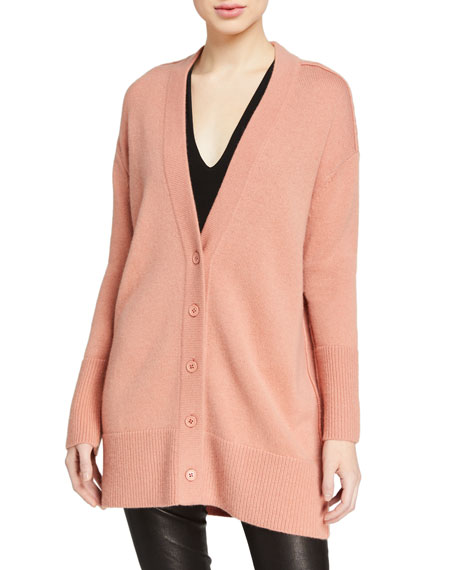 Image 1 of 2: Louie V-Neck Oversized Cardigan