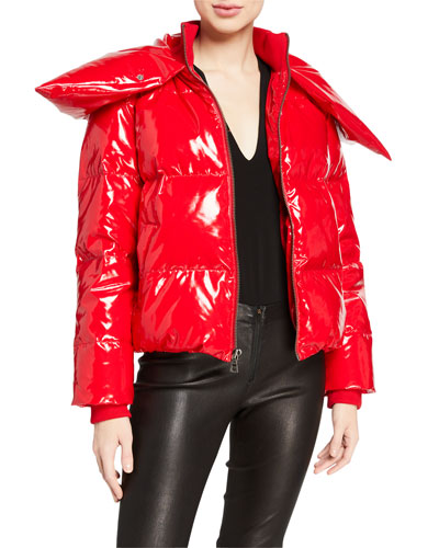 Durham High-Neck Puffer Jacket