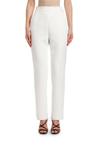 MSGM Pantalone Slim Pants with Strauss Trim