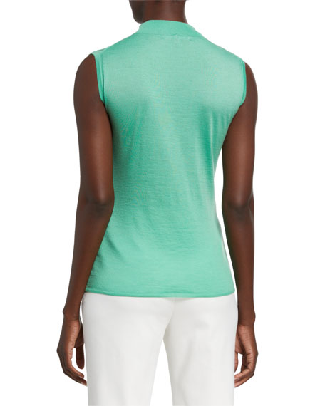 St. John Collection Featherweight Fine Gauge Cashmere Shell