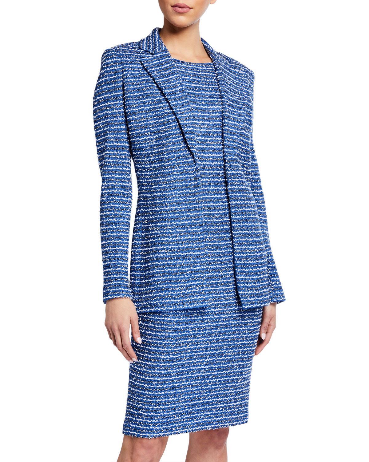 St. John Collection Butterfly Ribbon Tweed Knit Jacket and Matching Items & Matching Items