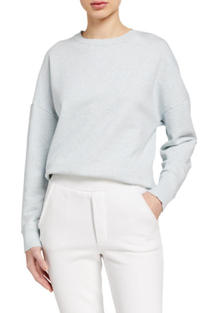 Frank & Eileen Tee Lab Ribbed Knit Crewneck Fleece Sweatshirt