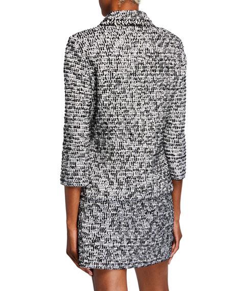 St. John Collection Modern Statement Tweed Blazer