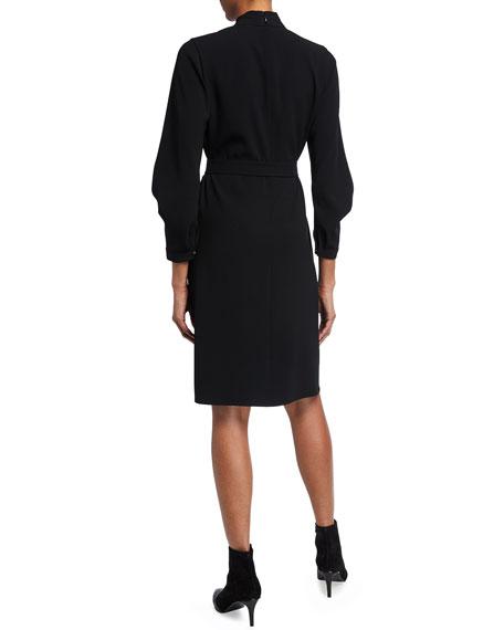 Kobi Halperin Leona Satin Back Crepe Dress