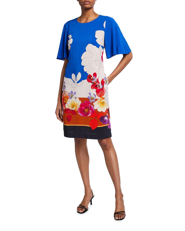 Kobi Halperin Addy Floral Print Dress