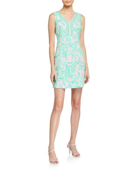 Lilly Pulitzer Vivian Printed Stretch Shift Dress