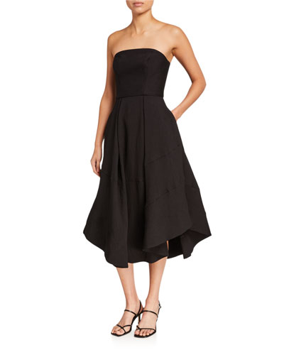 Beyond Control Strapless Cocktail Dress