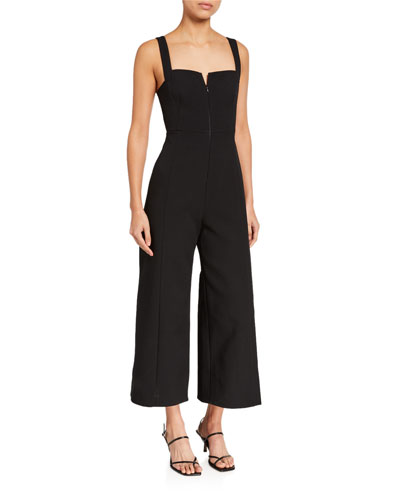 Consumed Strappy Wide-Leg Jumpsuit