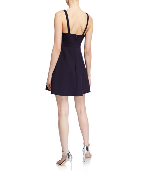 Likely Constance Flared Mini Dress