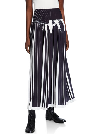 3.1 Phillip Lim Knife-Pleated Skirt
