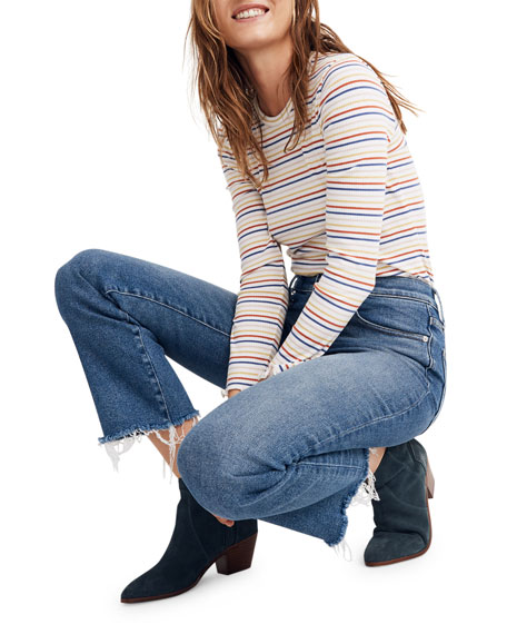 Image 3 of 4: Madewell Cali Mid-Rise Flare Jeans