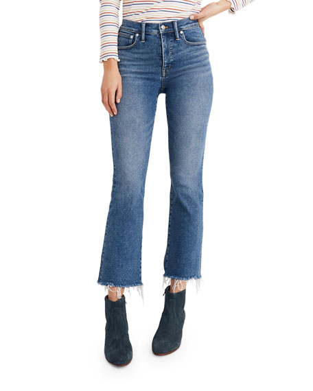 Image 1 of 4: Madewell Cali Mid-Rise Flare Jeans